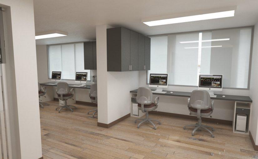 Dise o de oficinas finit arquitectura for Diseno de interiores de oficinas ejecutivas